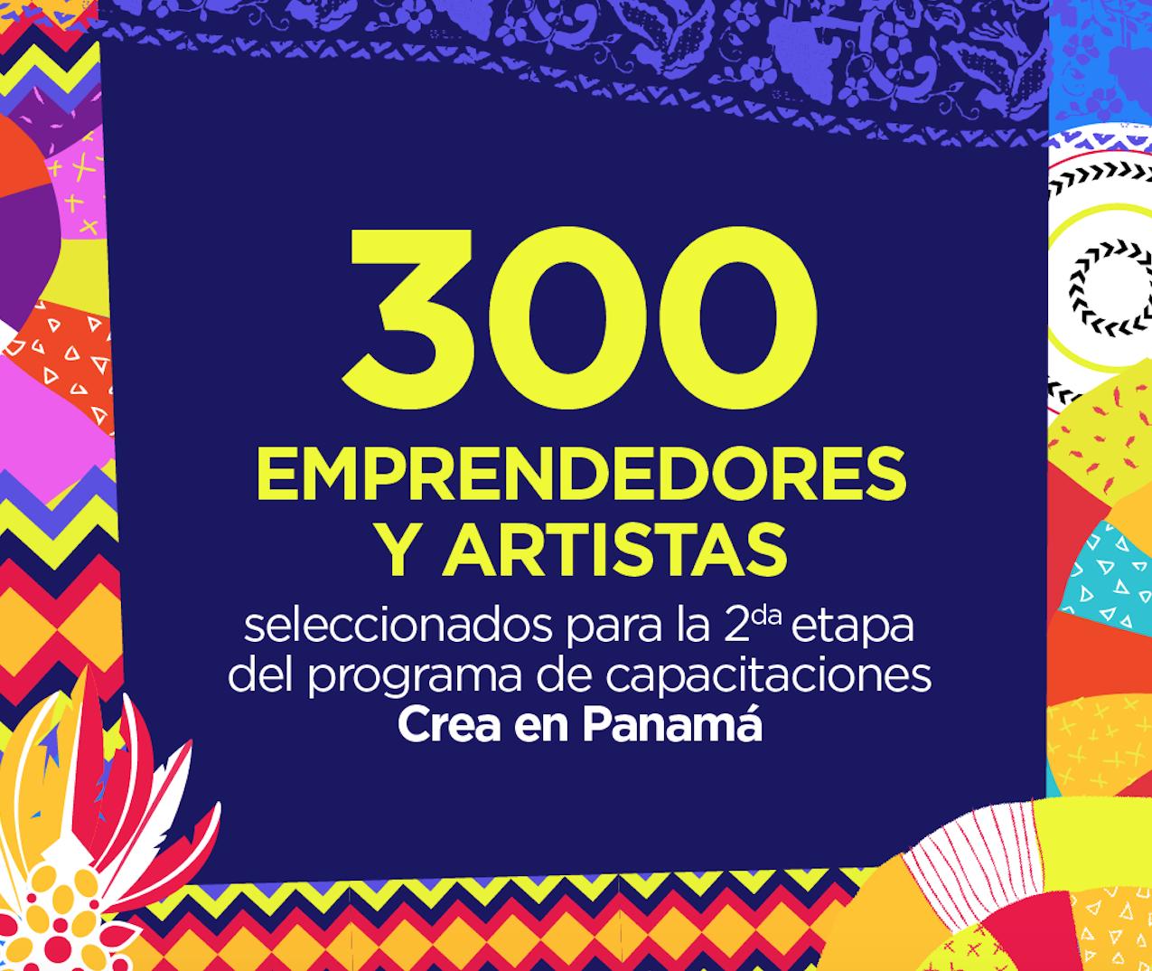 300 emprendedores y artistas