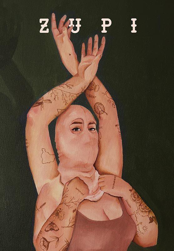 revista de arte e ilustração Zupi 65 - capa Priscila Barbosa