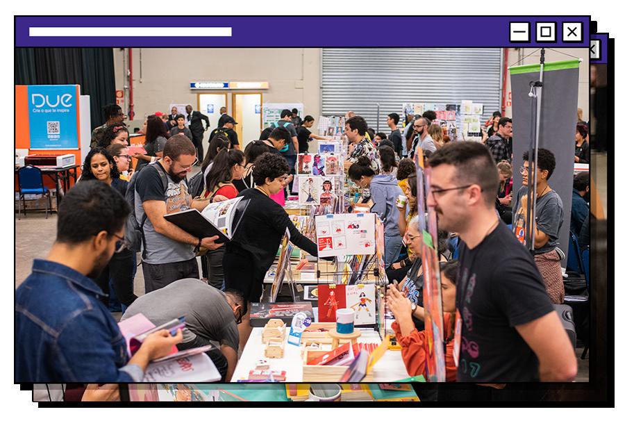 feira de arte e criatividade Pixel Show