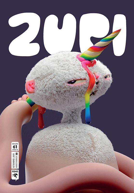 revista de arte e ilustração Zupi 61 - capa Untitled Army