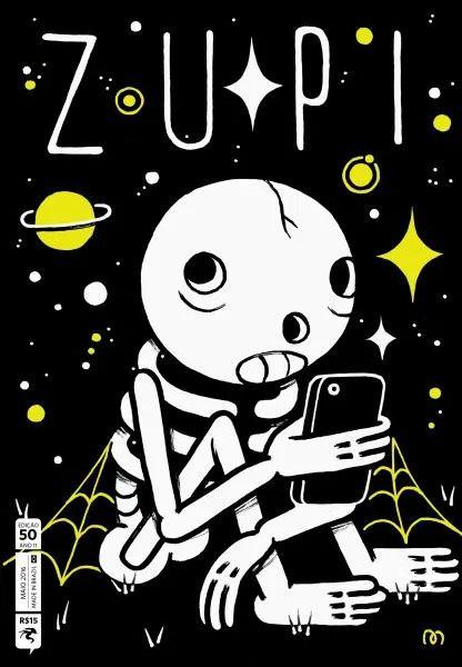 Revista de arte, ilustração e street art Zupi - capa: Muretz edição 50