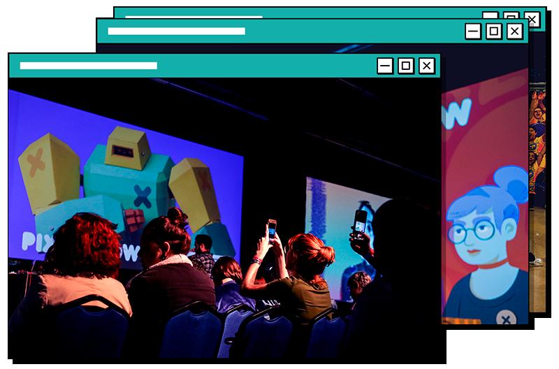 palestrantes escolhidos pela curadoria do Festival Pixel Show