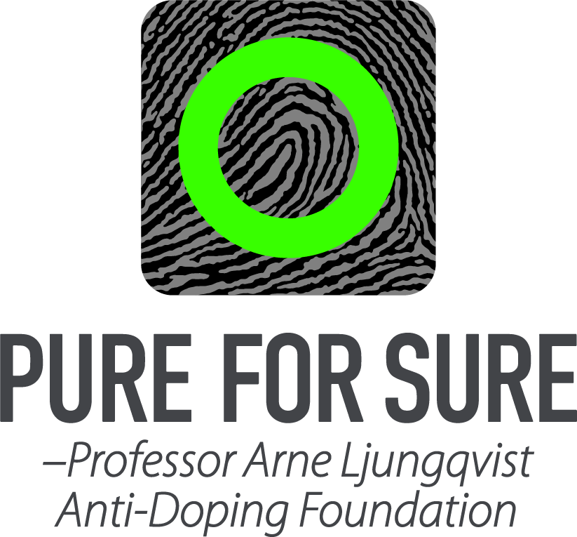 Pure For Sure<span>Arne Ljungqvist Foundation antidoping</span>